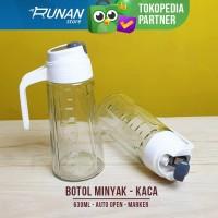 Botol Minyak Sayur Gula Cair Cuka Bottle Oil Dispenser Can 630ml Besar