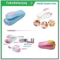 Hand Mini Sealer Pink Alat Penyegel / Perekat Kemasan Makanan Plastik