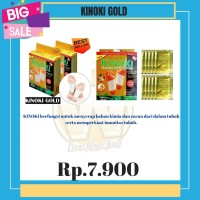 [1BOX ISI 10] KINOKI GOLD DETOX FOOT