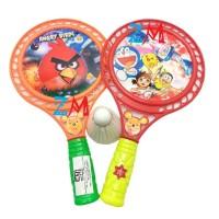 Mainan Anak Raket Bulu Tangkis Ting Tong isi 2 Pcs