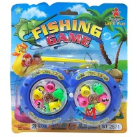 Mainan Anak Pancingan 2 Kolam 2571 -Fishing Game