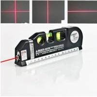 Fixit LevelPro3 Penggaris Laser Waterpass Meteran Laser MAnual 250Cm