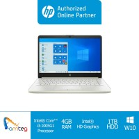 "HP Laptop 14s cf3040tu Intel Core I3-10051G1 / 14"" HD / 4GB / 1TB"