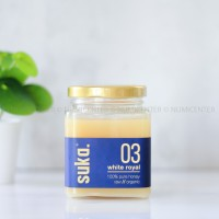 250ML WHITE ROYAL HONEY MADU ROYAL JELLY - SUKA ORGANIC