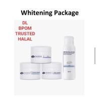 DL paket whitening cream siang malam sunscreen sabun BPOM HALAL