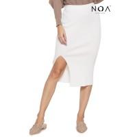 NOA everyday Rok Rajut Wanita Kaneen Cable Premium Skirt