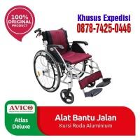 Jual Kursi Roda Avico Deluxe Atlas / Jual Kursi roda Aluminium