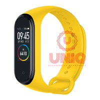 Strap Silicone Silicon Xiaomi Mi Band 4 OLED Replacement Gelang OEM