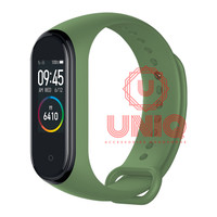 Strap Mi Band 4 Replacement Premium Sporty Xiao Mi Band 4 Smart Band - Army Green