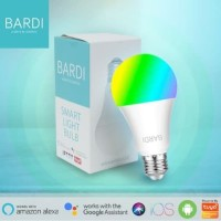 BARDI Smart LIGHT BULB RGB+WW 9W Wifi Wireless IoT For Home Automation
