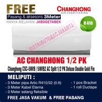 AC Changhong 1/2PK CSC-5NVB / 5NVB2 Deluxe Double Gold Fin - 05PK CSC 05NVB