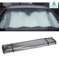 Pelindung Panas Dashboard Kaca Mobil Tirai Aluminium Foil ANTI PECAH
