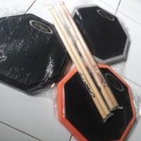 Promo Harga Gila !!! Pad Drum 10 Inch Murah Include Stick