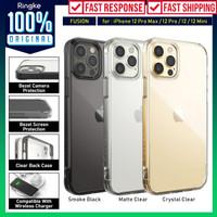 Case iPhone 12 Pro Max 12 Pro 12 Mini Ringke Fusion Anti Crack Casing