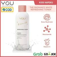 Kosmetik You The Radiance White Refreshing Toner 100ml - TONER