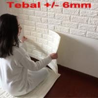 Wallpaper Dinding 3D 70 X 77 cm - 3D Foam