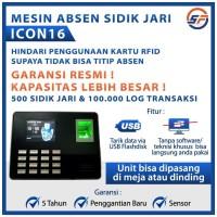 Fingerprint ICON 16 Mesin Absensi Sidik Jari SSR Original