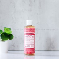 237ML ROSE PURE CASTILE LIQUID SOAP - DR. BRONNER'S