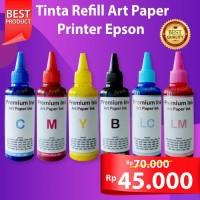 Tinta Art Paper 664 Epson Printer artpaper L360 L210 l120 L350 L220 - Kuning