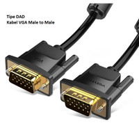 Vention 1.5M Kabel VGA Premium Male to Male