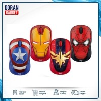 Mouse Wireless Logitech M238 Mouse Marvel Edition - Garansi 1th