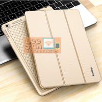 iPad 2/3/4 Luxury KAKUSIGA Carbon 3 Fold Smart Flip Cover / Case
