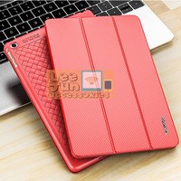 "New iPad 2018 9.7"" Luxury KAKUSIGA Carbon 3 Fold Smart Flip Cover/Case"