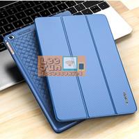 "New iPad 2017 9.7"" Luxury KAKUSIGA Carbon 3 Fold Smart Flip Cover/Case"