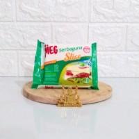 Meg Cheese Cheddar Slice 150g   Keju Burger Sandwich