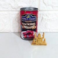 King's Fisher Mackarel Mini Saus Tomat 155gr   Makarel Kaleng Halal