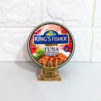 King's Fisher Tuna Hot Spicy 170gr   Daging Tuna Makanan Kaleng