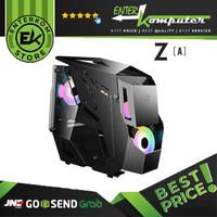 Casing Prime Z[A] Black - mAtx / Casing PC Gaming