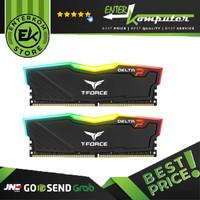 Team Delta DDR4 RGB PC25600 3200Mhz Dual Channel 32GB - Black