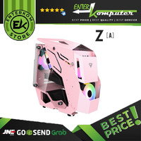 Casing Prime Z[A] Pink - mAtx / Casing PC Gaming