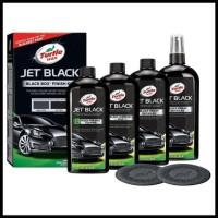 Terbaik Turtle Wax Jet Black Box Finished Kit 4 X 355 Ml baru