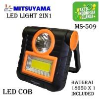 Lampu LED Emergency Multifungsi COB 20 watt MS-509 Mitsuyama