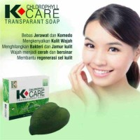 Sabun klorofil K•CARE transparent soap