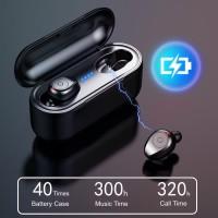 AMoi F9 TWS Mini Bluetooth V5.0 Stereo Bass Wireless Headset