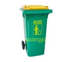 Tempat Sampah Roda 120 Liter Dustbin Besar Kuat Tebal
