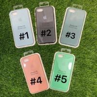Silicone Case Warna Model Ori Anti Jamur iPhone 7/8