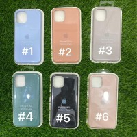 Silicone Case Warna Model Ori Anti Jamur iPhone 11 Pro