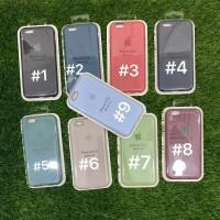 Silicone Case Warna Model Ori Anti Jamur iPhone 6
