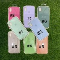 Silicone Case Warna Model Ori Anti Jamur iPhone XR