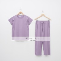 Lunaci Paisley Purple Pyjamas