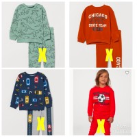 Baju sweater kaos anak laki branded original H&M hnm HM sweatshirt kid