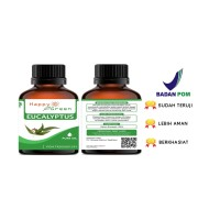 Happy Green Eucalyptus Essential Oil (Minyak Eukaliptus ) 30ml Murni