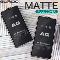 POCO X3 NFC TEMPERED GLASS MATTE FROSTED FULL COVER