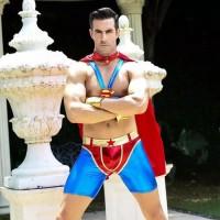 Terlaku Superman Hero Costume Untuk Pria Cosplay Super Hero Dewasa