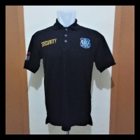 LANGSUNG ORDER SAJA KAOS KERAH SECURITY - POLO SHIRT SECURITY