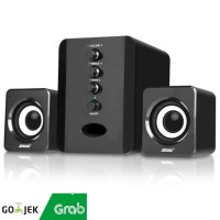 Speaker Stereo 2.1 with Subwoofer & USB Power SADA D-202